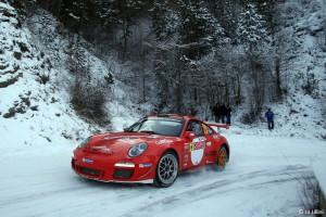 Romain Dumas 2e du Monte-Carlo avec la Porsche 911 GT3 RS 4,0l